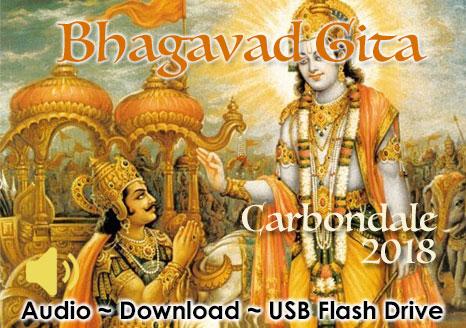 Bhagavad Gita ~ Carbondale 2018 ~ Audio