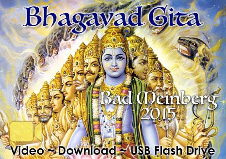 Bhagavad Gita Bad Meinberg 2015 ~ VIDEO