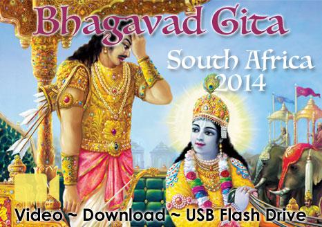 Bhagavad Gita South Africa ~ VIDEO