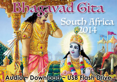 Bhagavad Gita ~ South Africa ~ MP3 AUDIO