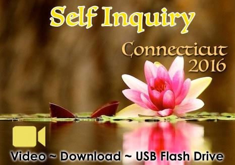 Self Inquiry Wilton, Connecticut 2016 - VIDEO