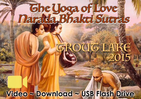 The Yoga of Love ~ Narada Bhakti Sutras ~ Video + eBook