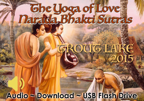 The Yoga of Love ~ Narada Bhakti Sutras ~ Audio + eBook