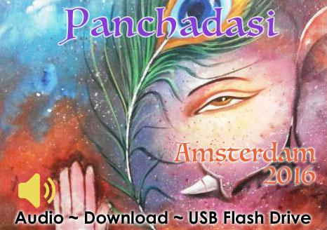 Panchadasi Amsterdam 2016 - MP3 AUDIO  (chapters 1 & 2)