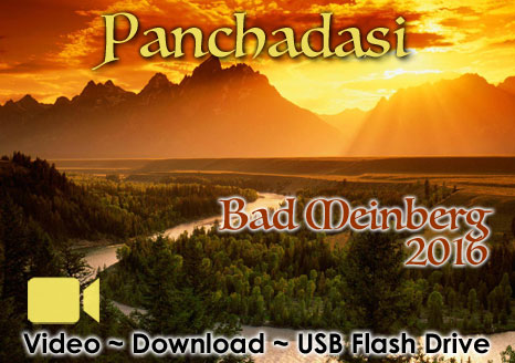 Panchadasi Bad Meinberg 2016 - VIDEO 25 Hours