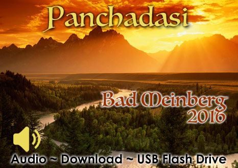 Panchadasi Bad Meinberg 2016 - MP3 AUDIO 25 Hours