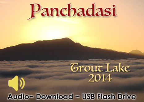 Panchadasi Trout Lake 2014 - MP3 AUDIO
