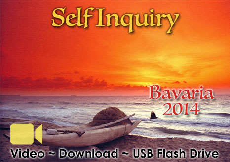 Self Inquiry Bavaria  2014 - VIDEO