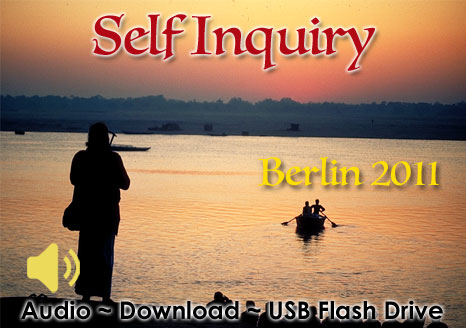 Self Inquiry 2011 - MP3 AUDIO