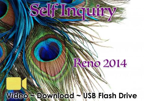 Self Inquiry Reno 2014 - VIDEO