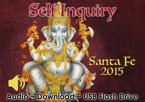 Self Inquiry Santa Fe 2015 - MP3 AUDIO